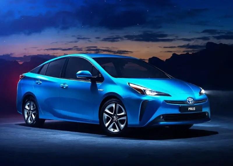 2020 Toyota Prius Blue Colors