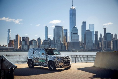Most Affordable SUV - 2021 Land Rover Defender