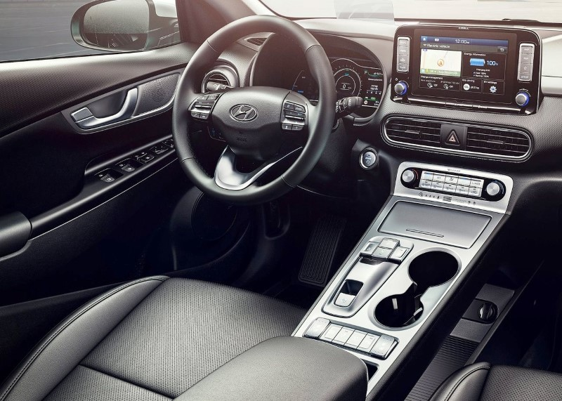 2020 Hyundai Kona Electric Interior Features