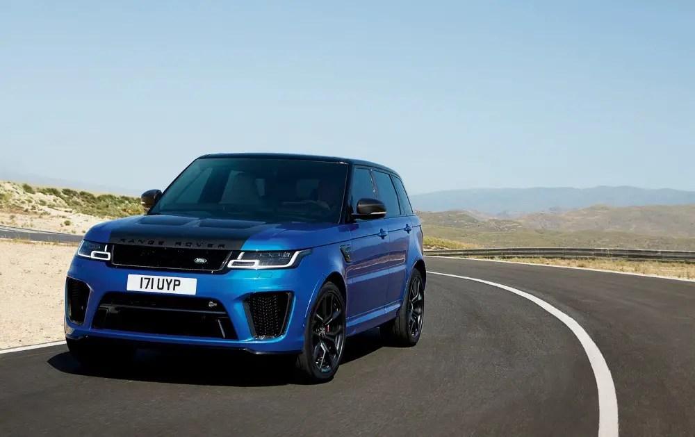 2020 Range Rover Sport SVR V8 Hybrid Turbo Performance