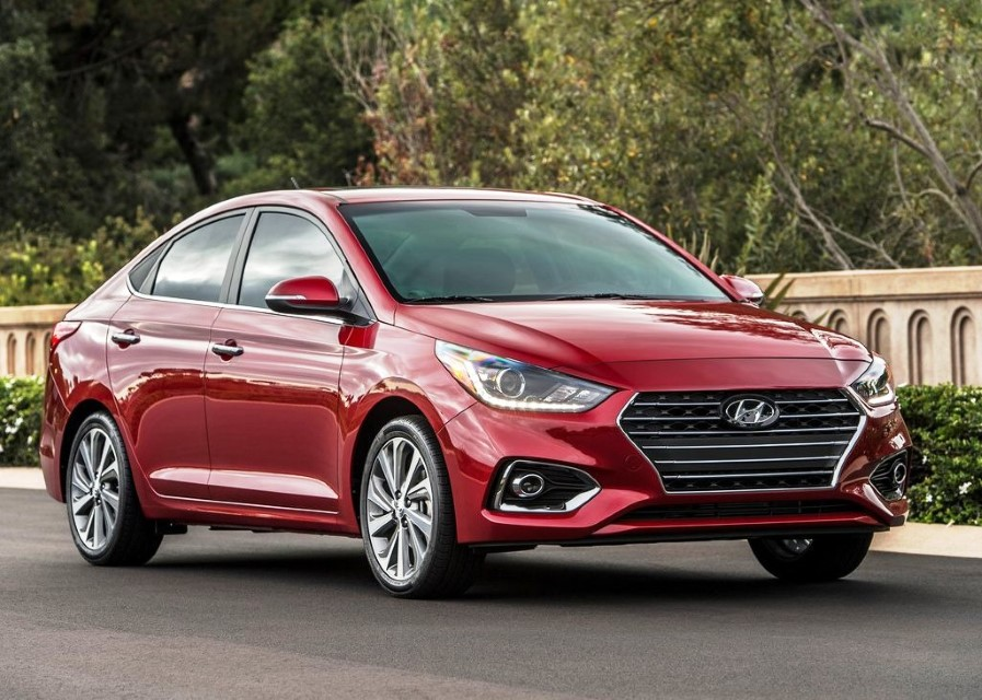 2020 Hyundai Verna Redesign Exterior Red Color