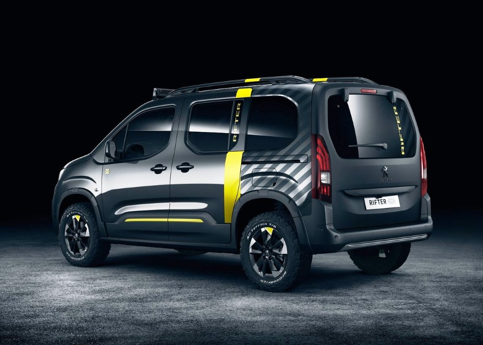 2020 Peugeot Rifter 4X4 AWD Specs