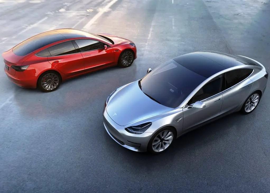 2020 Tesla Model 3 Configuration