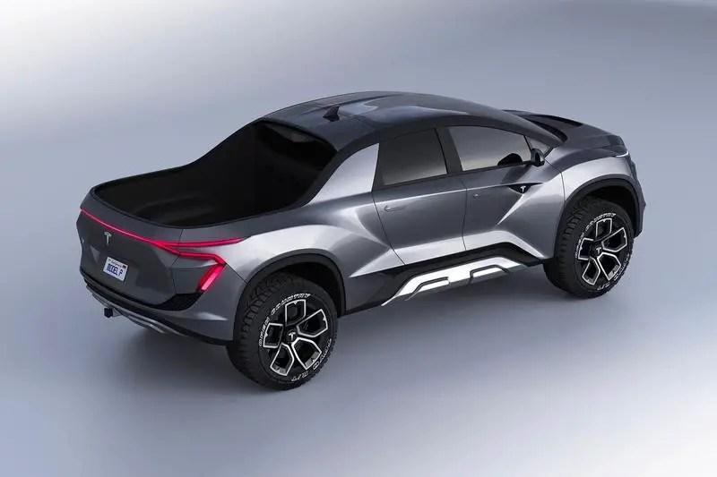 2021 Tesla Pickup Truck Concept Design