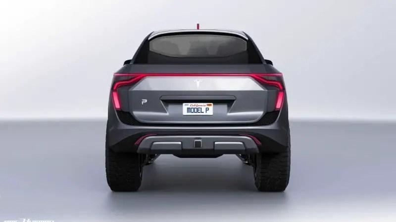 2021 Tesla Pickup Truck Model