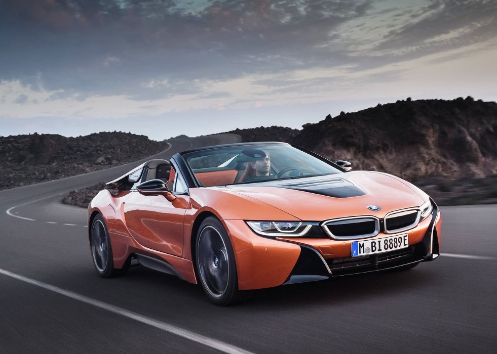 2020 BMW i8 Roadster Range Power