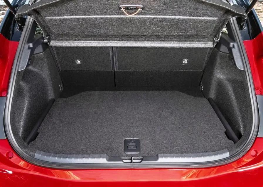 2020 Toyota Corolla Hybrid Trunk Dimensions