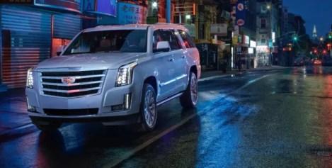 2021 Cadillac Escalade Silver Color