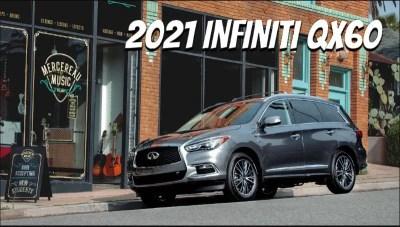 2021 Infiniti QX60 Redesign, Interior, Price & Release Date