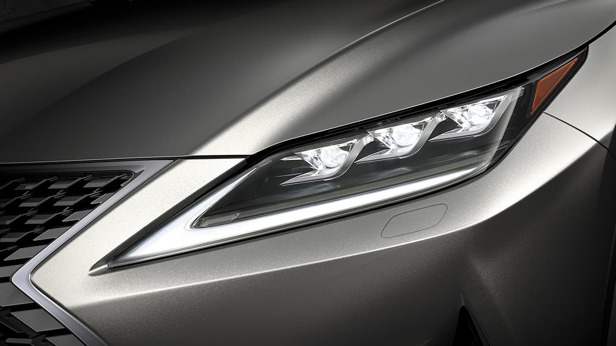 2021 Lexus RX 350 Triple Beam LED Headlamps