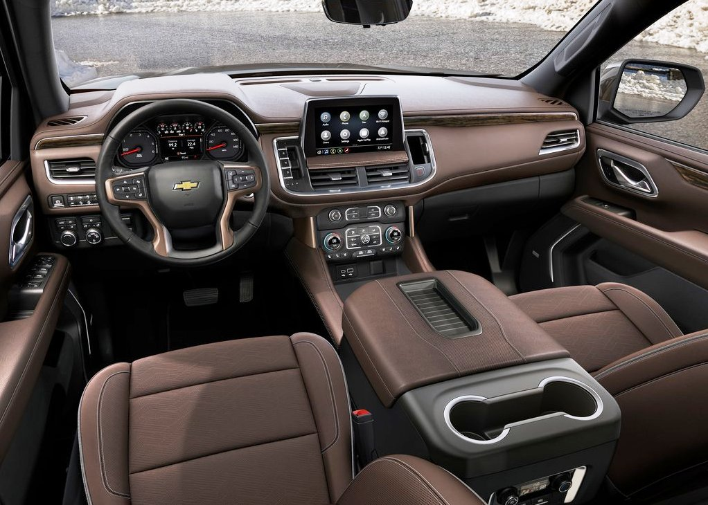 2021 Chevy Suburban Interior Dashboard