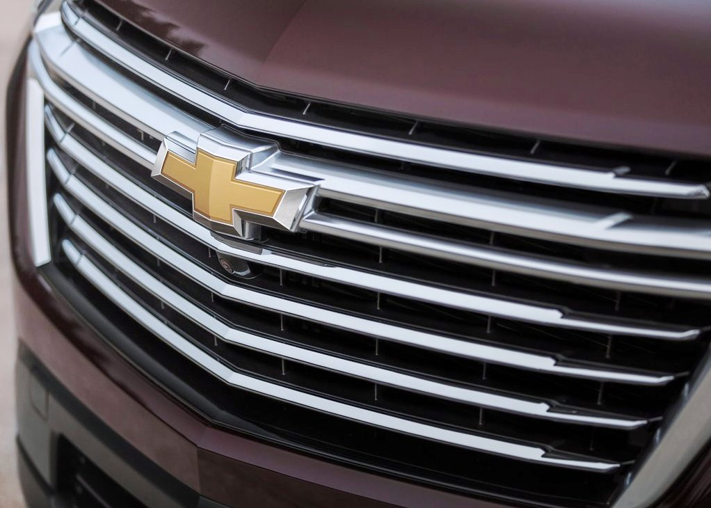 2021 Chevy Traverse New Grill