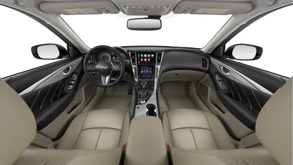 2021 Infiniti Q50 New Interior Dashboard