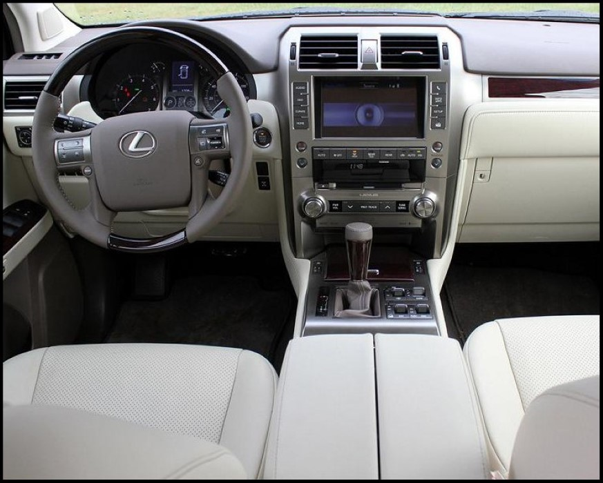 2021 Lexus GX 460 Interior Features