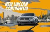 2021 Lincoln Continental Concept Design