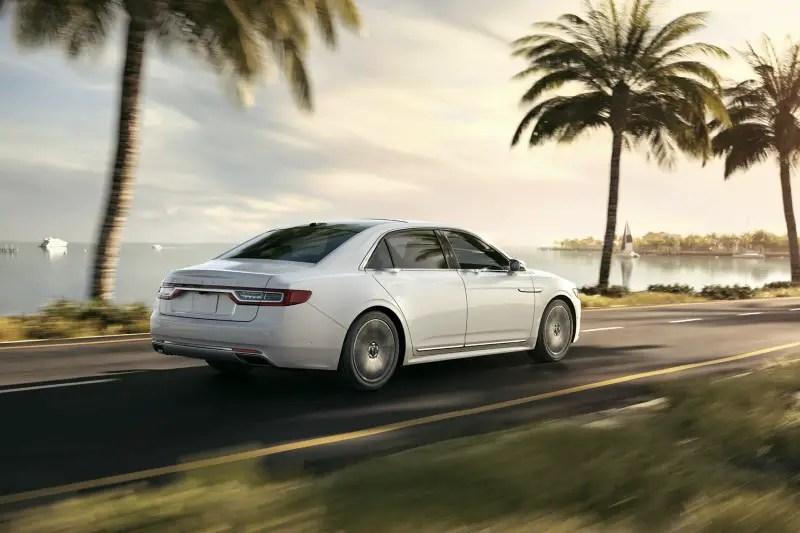2021 Lincoln Continental White Color