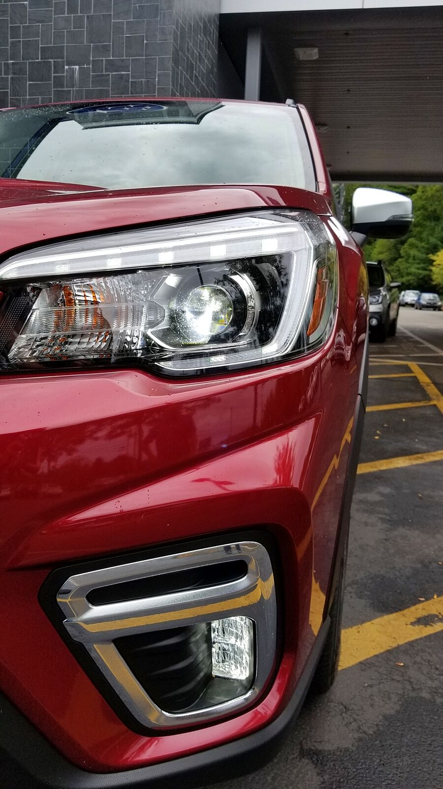 2021 Subaru Forester Front Agel Head Lamps Changes