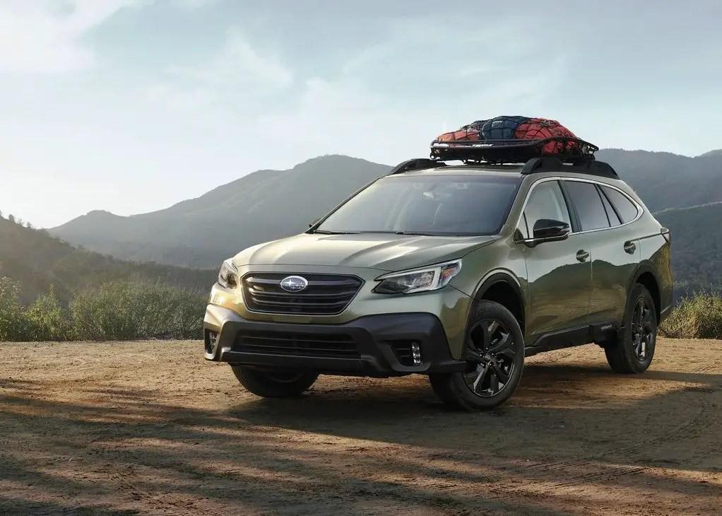 2021 Subaru Outback Redesign Exterior