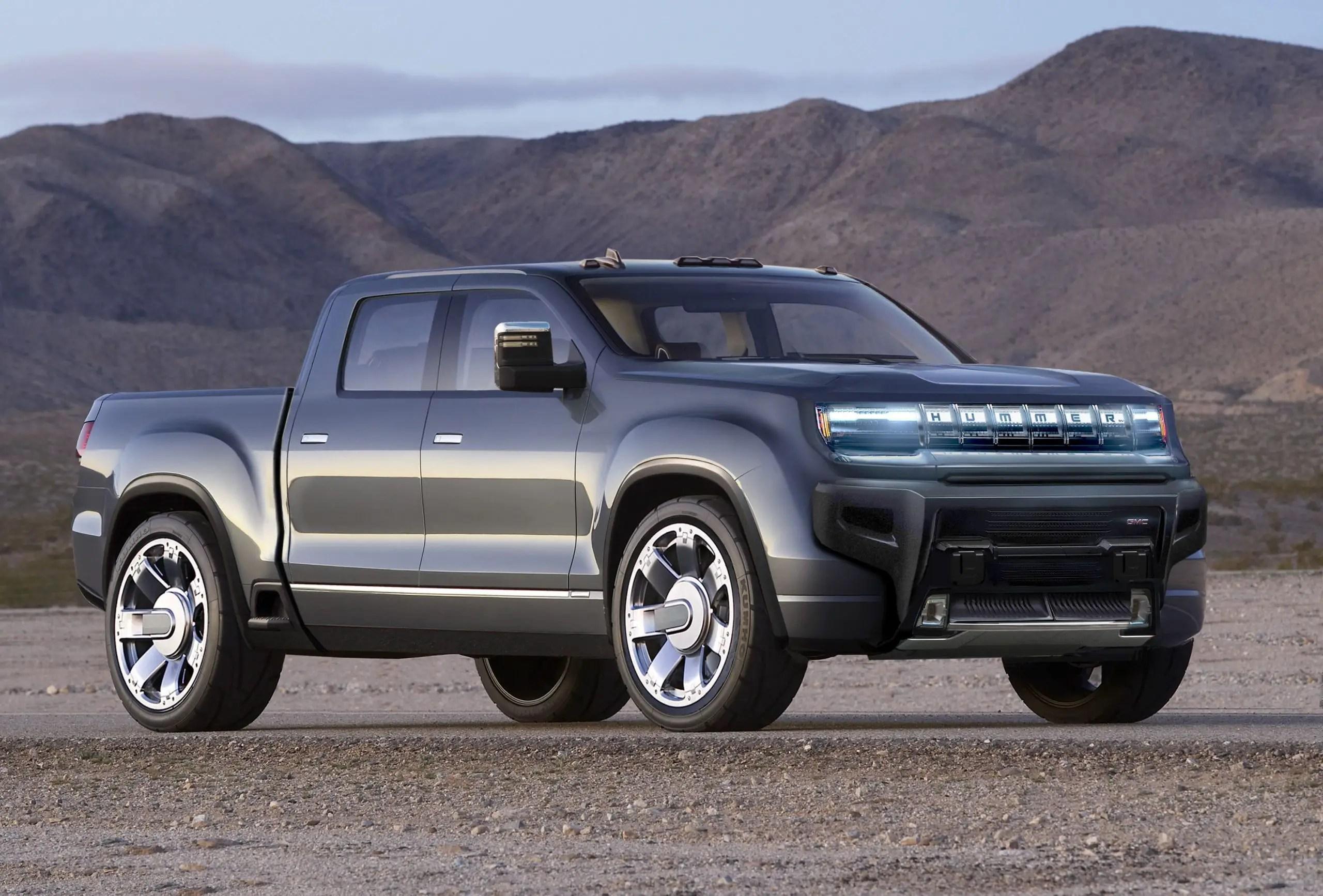 2022 GMC Hummer EV ilusstrations