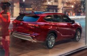 2022 Toyota Highlander Platinum Ruby RED Color