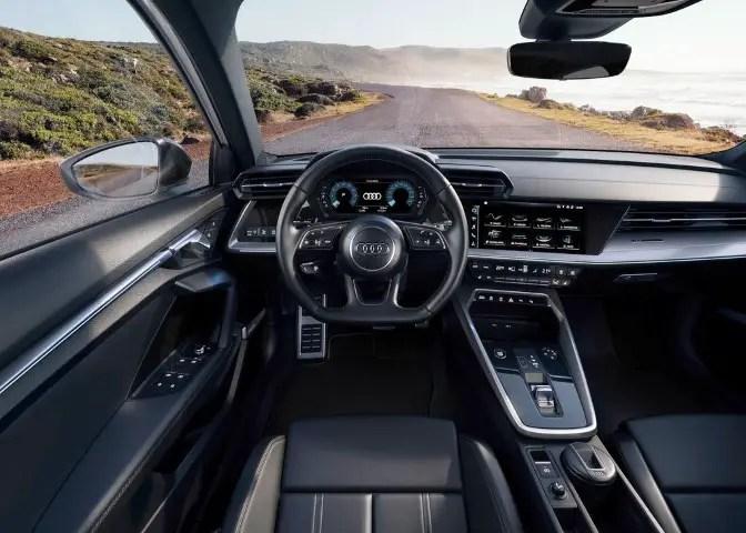 2022 Audi RS 3 Sportback Interior based on A3