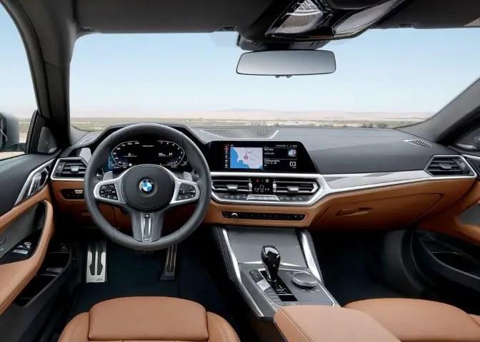 2022 BMW M4 Interior