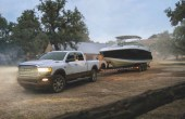 2022 RAM 2500 Towing a Boat