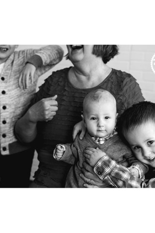 Portrait of a grandmother by Adored by Meghan Rickard Photography Richland WA