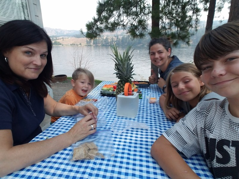 Lake vacation with the family to Tiffany's Resort on Curlew Lake, WA.