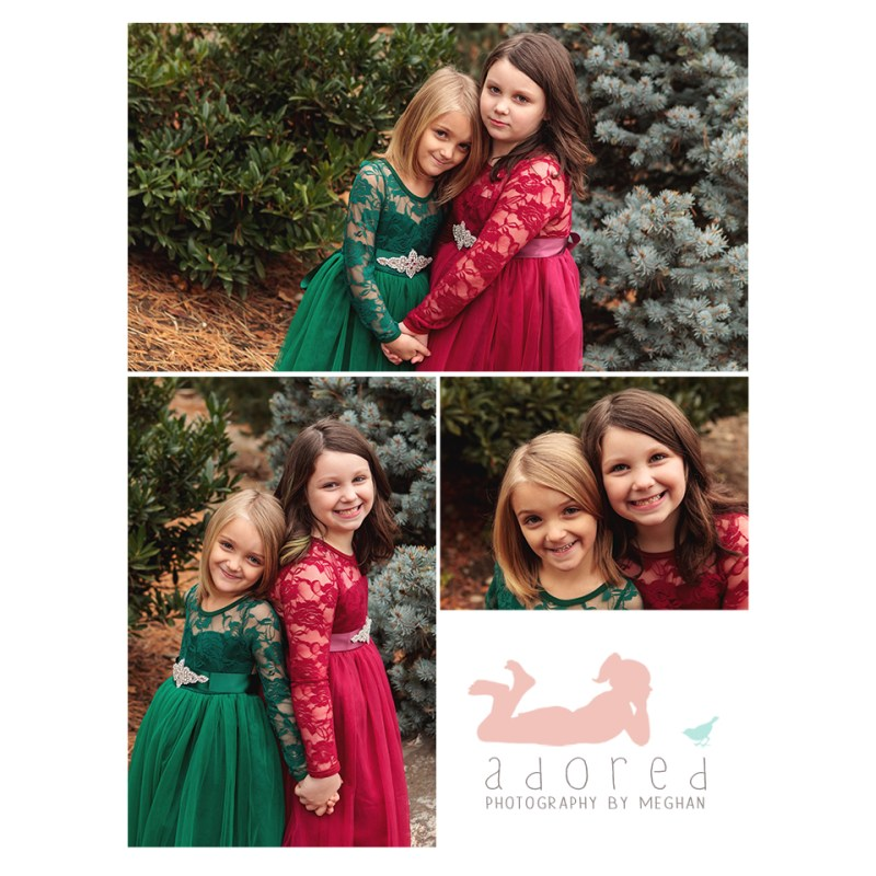 Let Adored by Meghan, out of Kennewick, WA, capture beautiful portraits of your children.  Perfect for using in holiday gifts to friends and family, near and far.