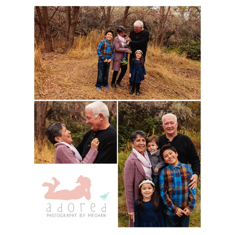 Give the gifts of family portraits this holiday season.  Schedule your family session with Adored by Meghan, Tri-Cities, WA.