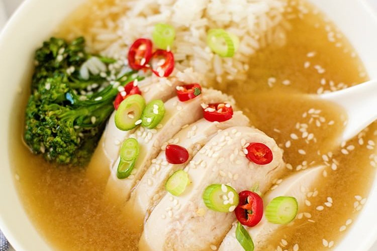 Easy Asian Chicken Soup Recipe