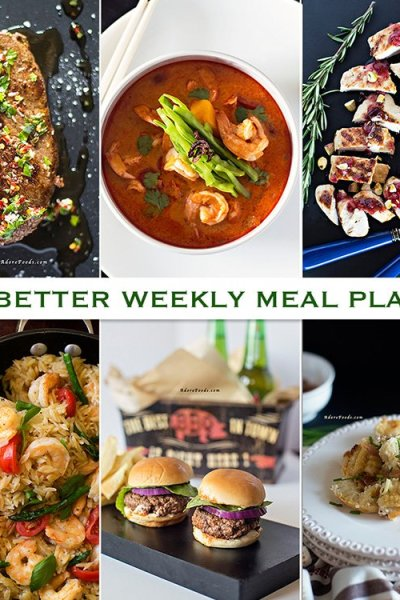 Eat Better Weekly Meal Plan #4