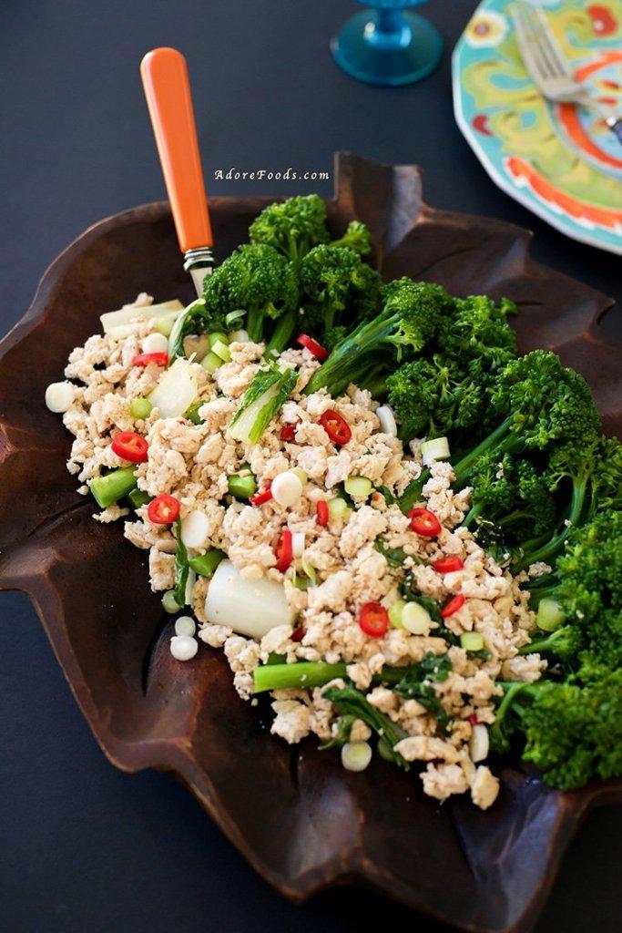Quick Thai-Style Chicken Broccolini Stir Fry