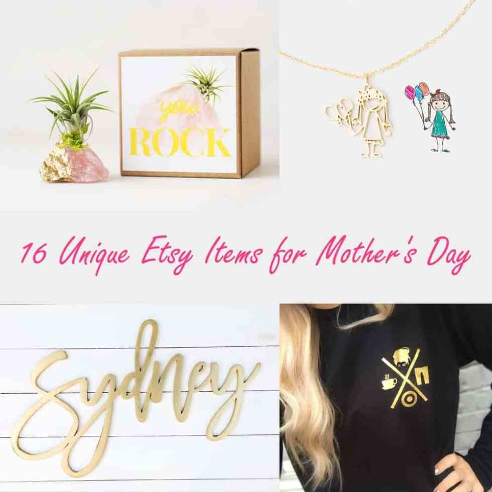 etsy items for mother's day