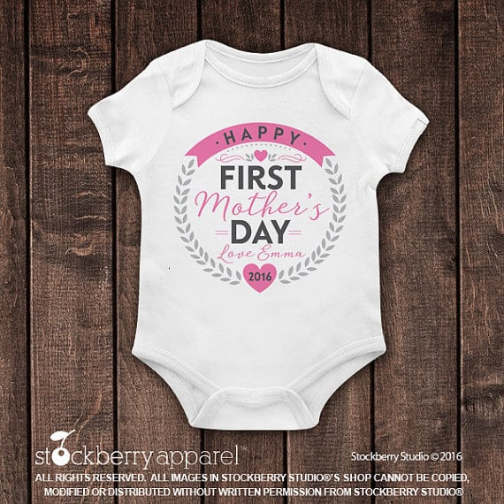 first mothers day onesie