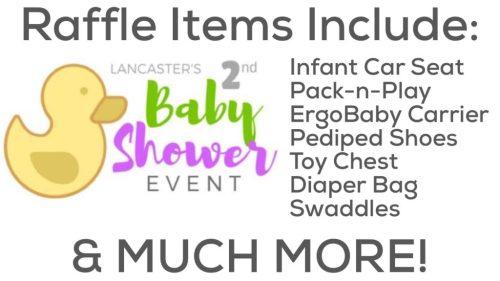 Lancaster Baby Shower Giveaways
