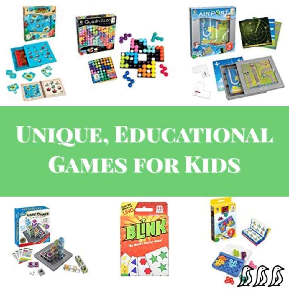 Unique, Educational Games for Kids