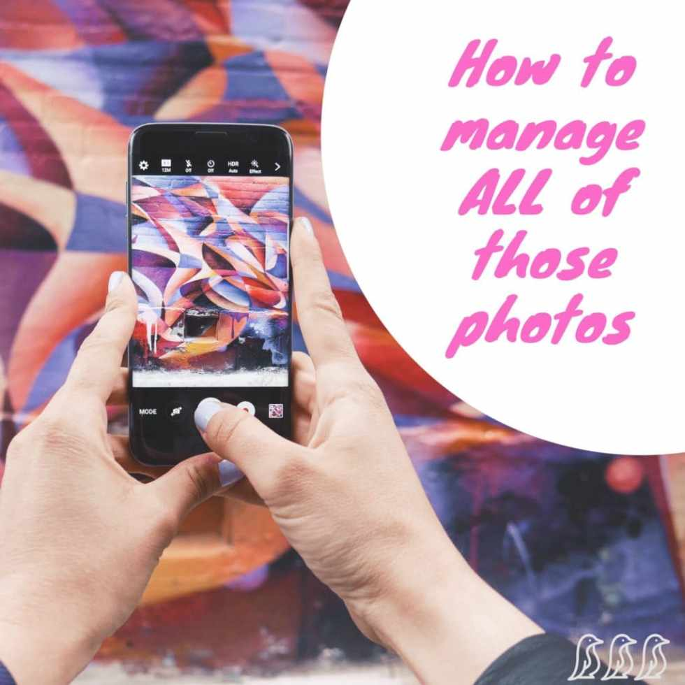 How to Manage ALL of Those Photos