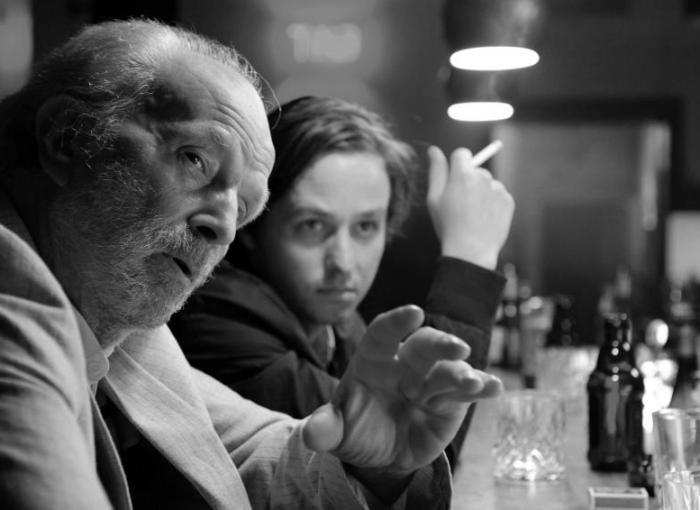 Filmstill aus OH BOY! - Michael Gwisdek und Tom Schilling - © X-Verleih