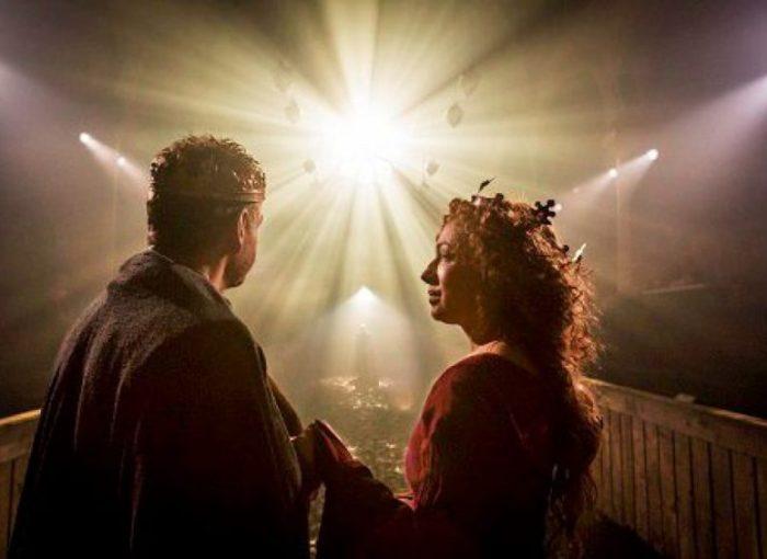 Szenenbild aus NT LIVE: Macbeth - Photo by Johan Persson