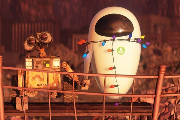 Wall-E und Eve - © Walt Disney Studios Motion Pictures France