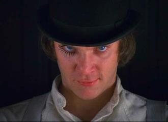 Szenenbild aus A CLOCKWORK ORANGE - UHRWERK ORANGE - © Warner Bros.
