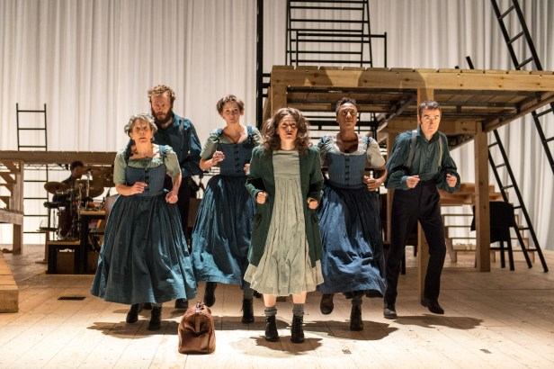Szenenbild aus NT LIVE: JANE EYRE - © Photo by Manuel Harlan