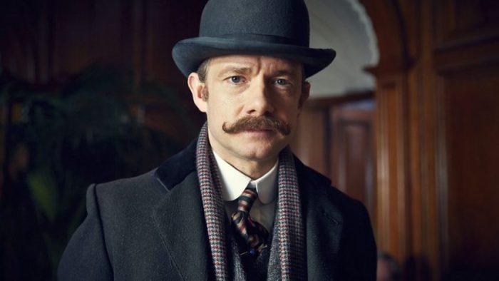 Szenenbild aus SHERLOCK: THE ABOMINABLE BRIDE - John Watson (Martin Freeman) - © BBC