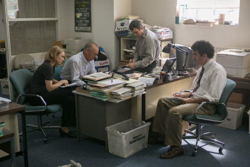 Szenenbild aus SPOTLIGHT - Recherchearbeit - © Paramount Pictures Germany