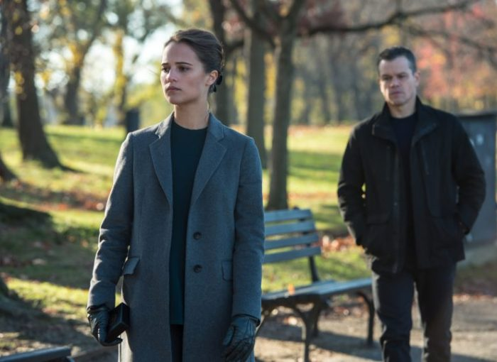 Heather Lee (Alicia Vikander) und Jason Bourne (Matt Damon) - © Universal Pictures