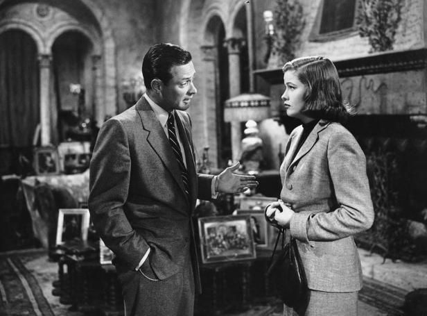 Joe Gillis (William Holden) und Betty Schaefer (Nancy Olsen) - © Paramount Pictures