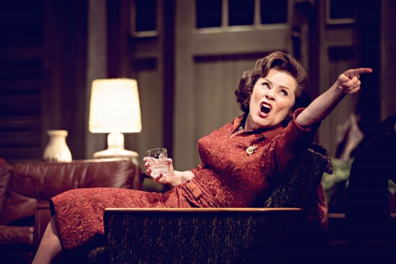 Imelda Staunton, Who's afraid of Virginia Woolf, NT Live, Credit : Johan Persson