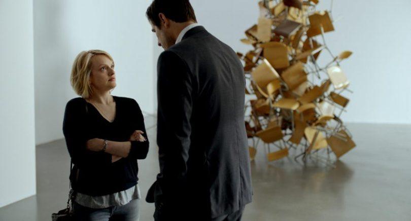 Filmstill aus THE SQUARE - Anne (Elisabeth Moss) und Christian (Claes Bang) - © Alamode Filmverleih
